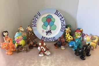 Macie's birthday party! Fun, fun, fun!!