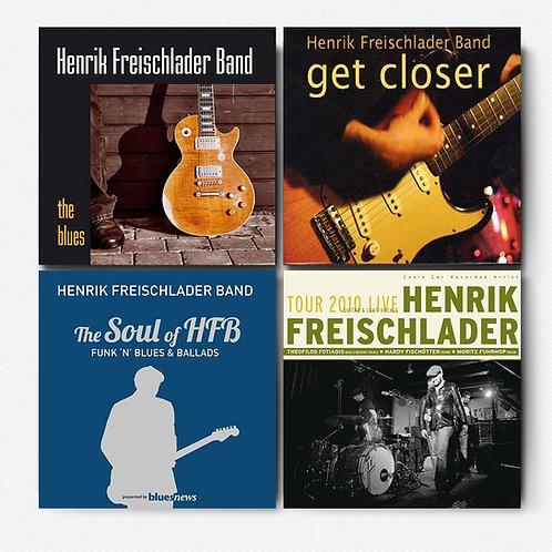 HENRIK FREISCHLADER CD-Paket