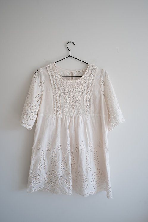 Roolee White Lace Top