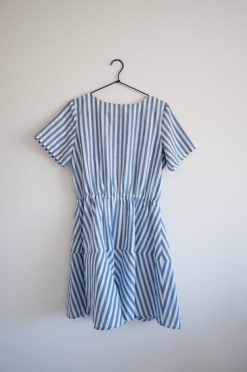 Linen Babydoll Dress
