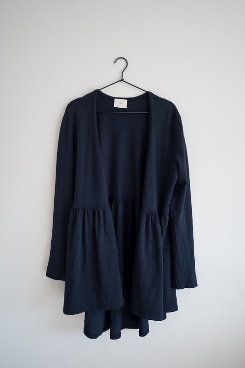 Navy Anthropologie Sweater