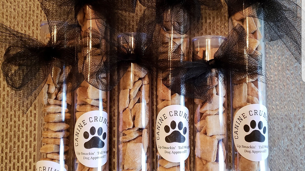 Canine Cruncher Treat Tubes