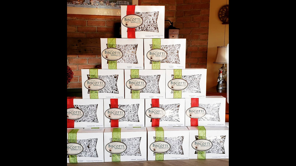 Corporate Biscotti Gift Boxes