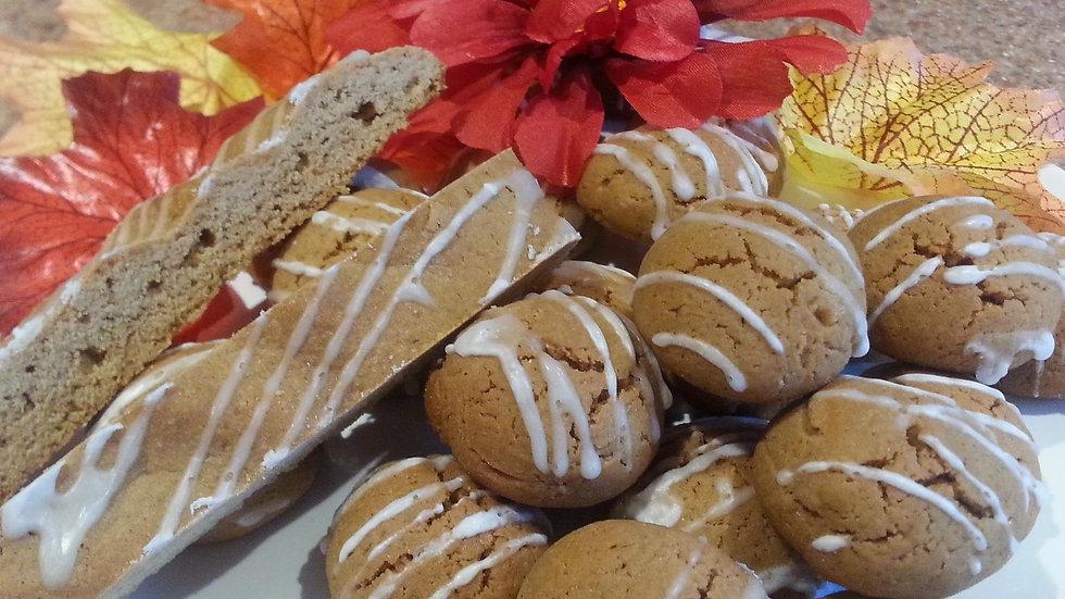 Gingerbread Man Biscotti