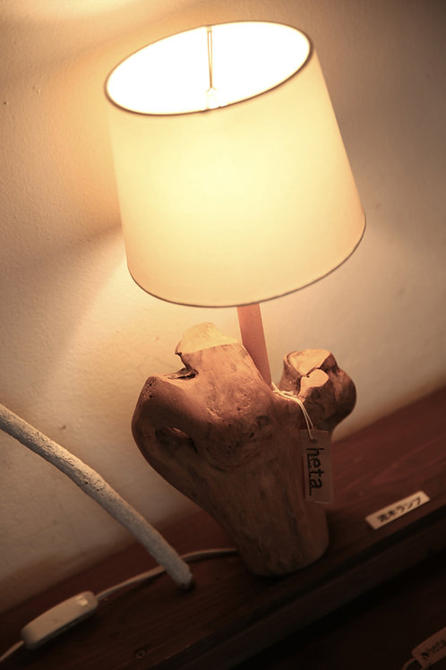 流木ランプシェード
