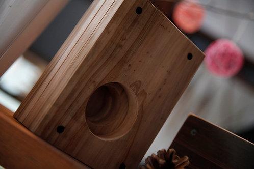木製アイホンスピーカー(タテ型)