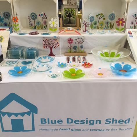 Blue Design Shed