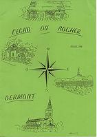 Echo du Rocher Juillet 1998
