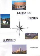 Echo du Rocher Decembre 1999