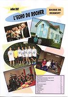Echo du Rocher Juillet 2007