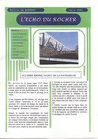 Echo du Rocher Juin 2005