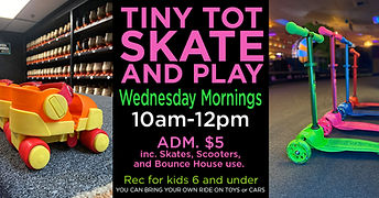 Tiny Tots Skate And Play