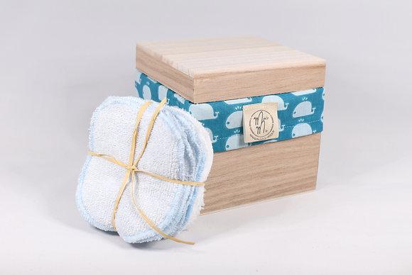 BAMBINO BOX BALEINES BLEUES