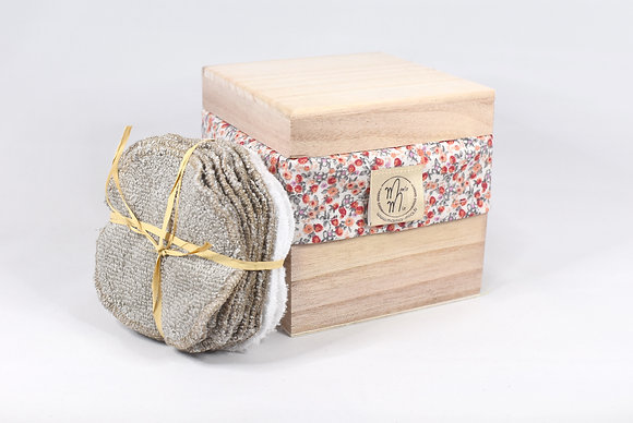 BAMBINO BOX FLEURS ORANGE