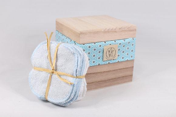 BAMBINO BOX GEOMETRIQUE BLEUE