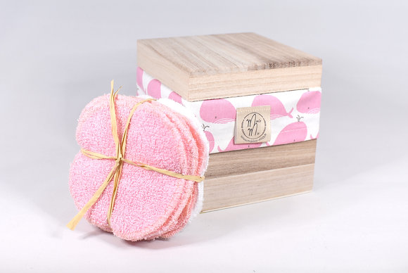 BAMBINO BOX BALEINE ROSE