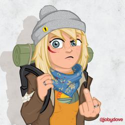 Hat Girl-01