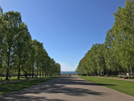 We had a splendid view on the Baltic Sea