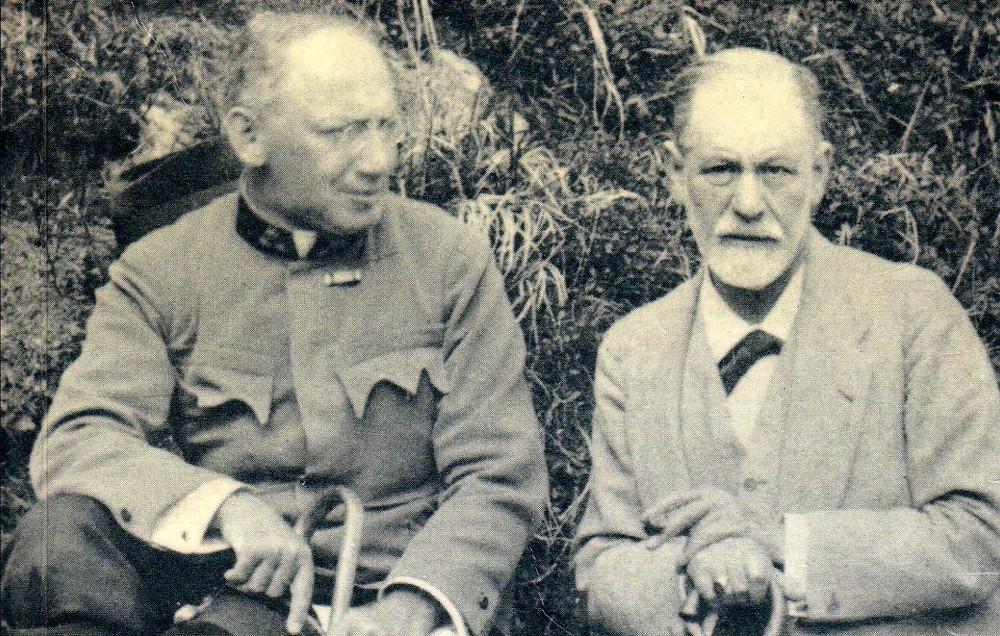 Ferenczi con Freud nel 1917
