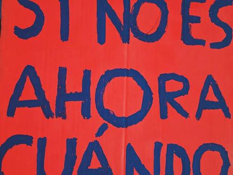 ¡CHILE DESPERTÓ! Reportaje gráfico de las movilizaciones sociales (18 de oct-nov 2019)
