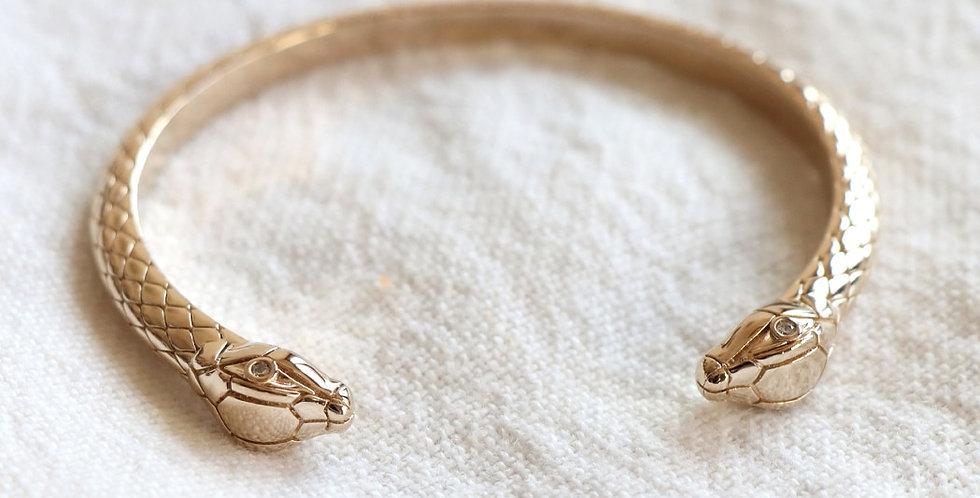 Bracelet Jonc Serpent - Avinas Jewelry