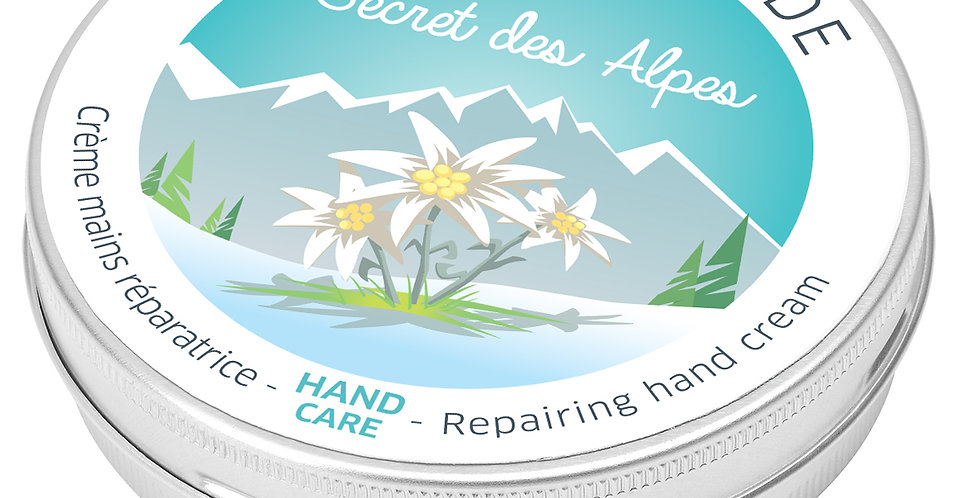 Crème réparatrice mains Secret des Alpes, 60ml