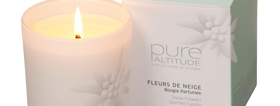 Bougie parfumée Fleurs de Neige,190g