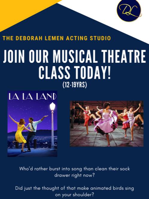 Musical Theater 4 Week Class