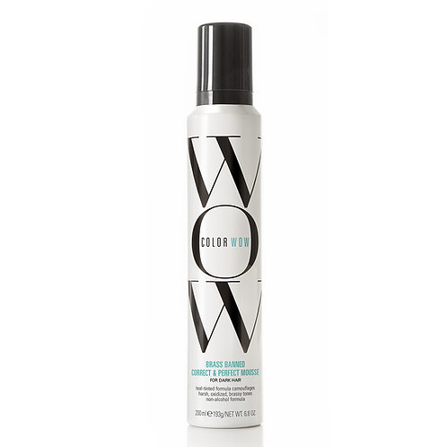Brass Banned Mousse For Dark Hair