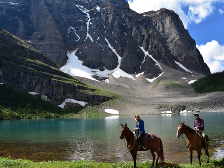 Horseback Ride to Lake Annette and Paradise Valley