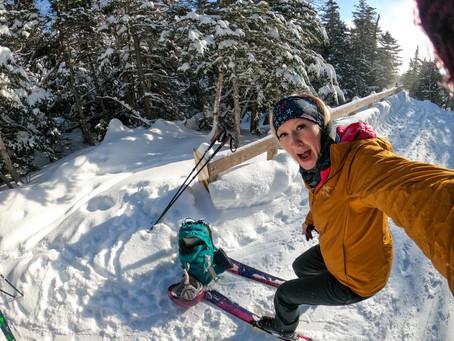Backcountry Skiing: John Sherburne Ski Trail -Mt. Washington