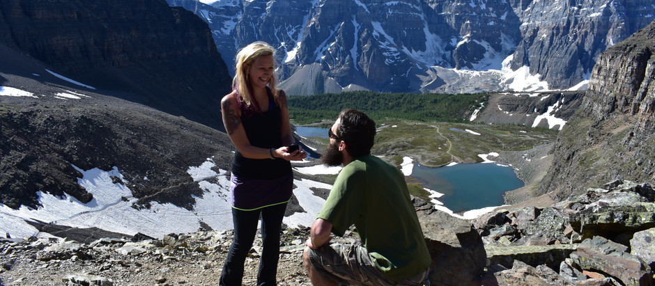 He Put a Ring On It; Hike to Larch Valley & Sentinel Pass