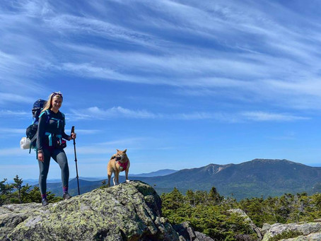 Backpacking Galehead & South Twin: Luna's Birthday