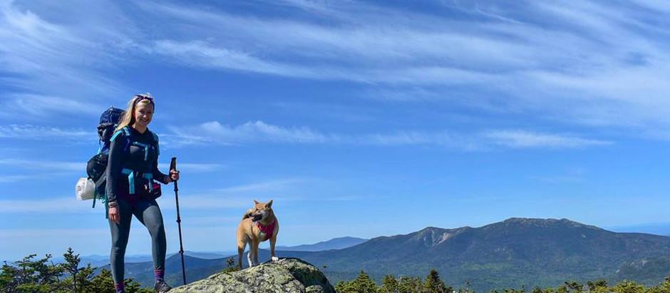 Backpacking Galehead & South Twin: Luna's Birthday