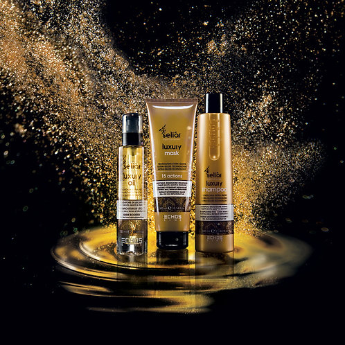 SELIÀR LUXURY SHAMPOO, MASK, OIL PACKAGES