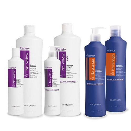 No Yellow Shampoo and Mask  350ml / No Orange Shampoo and Mask 350ml