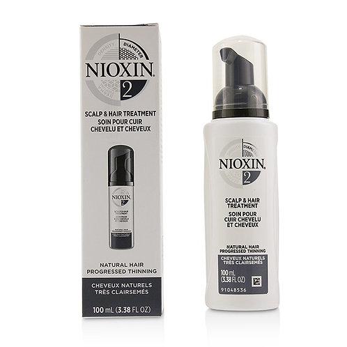 NIOXIN 3D CARE SYSTEM 2 - SCALP TREATMENT 100ML