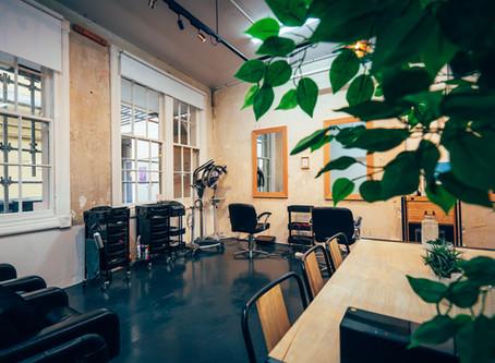 Inside a Plant-Filled Hair Salon, Auckland
