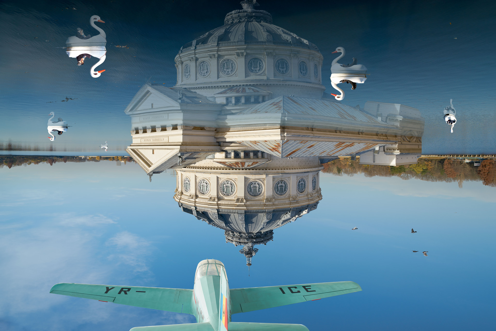 Understanding music - floating reflections of flight