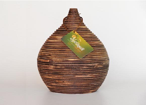 Houten urnen, Unieke urnen van Naturnus. Memoire is een unieke handgemaakte houten urn.