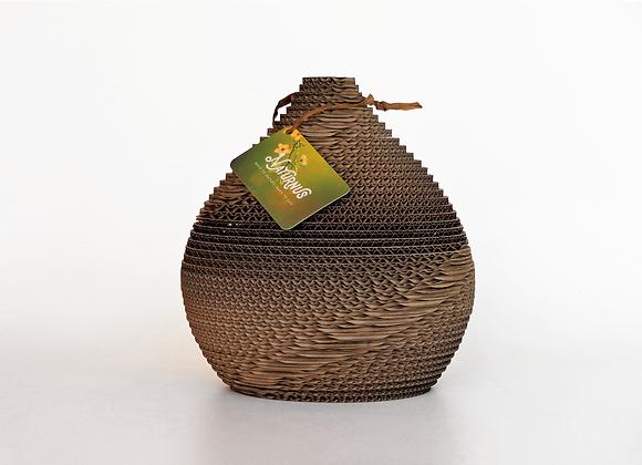 Houten urnen, Unieke urnen van Naturnus. Horizon is een unieke handgemaakte kartonnen urn.
