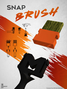 Snap Brush: verfborstel