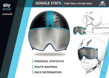 VR-bril voor wegwielrenners
