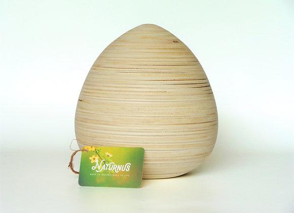 Houten urnen, Unieke urnen van Naturnus. Ovia is een unieke handgemaakte houten urn.