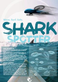 Drone design: Shark Spotter