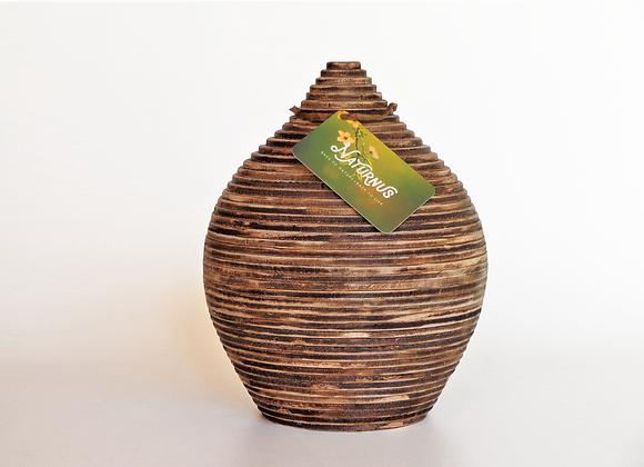 Houten urnen, Unieke urnen van Naturnus. Echo is een unieke handgemaakte houten urn.