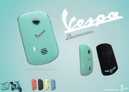 Vespa smartphone design