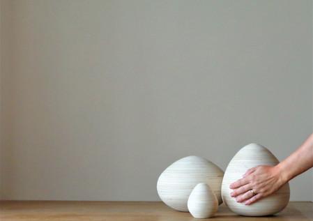 Houten urnen - handgemaakt