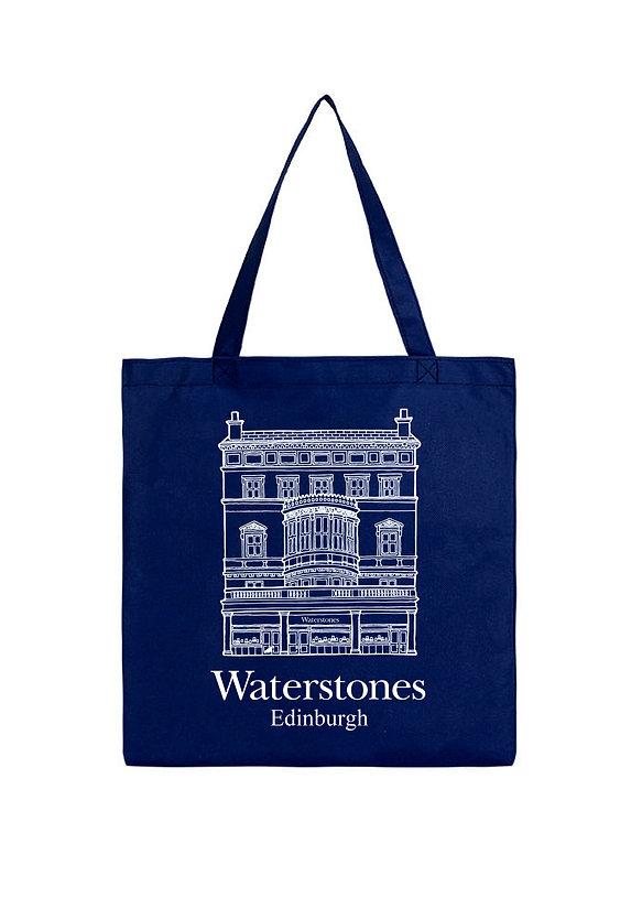 Waterstones Edinburgh Tote Bag - Blue2.j
