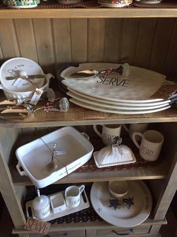 Platters, Baking Dishes, Cream & Sugar